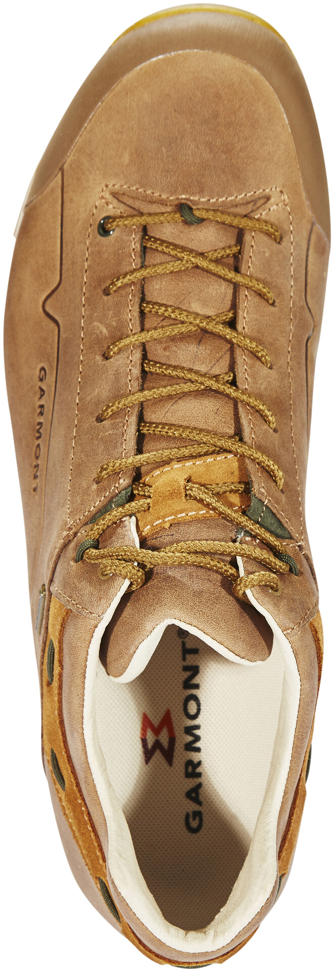 Garmont Miguasha Low Nubuck GTX Shoes Herren beigeolive green
